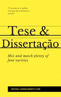 Publicar Tese e Dissertação na Forma de Livro